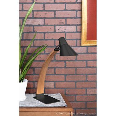 c2e88932a8b66 Noah Mid-Century Modern Table Lamp (Assorted Colors) - Sam s Club