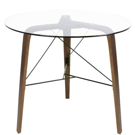 Trilogy Contemporary Round Dining Table