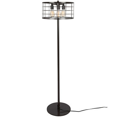 Indy Wire Industrial Floor Lamp In Antique Sam S Club