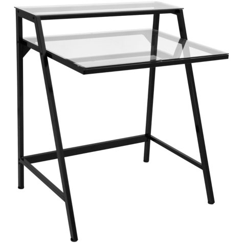 2-Tier Contemporary Desk (Assorted Colors)