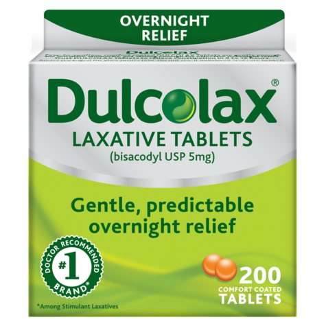 Dulcolax Laxative Tablets (200 ct.)