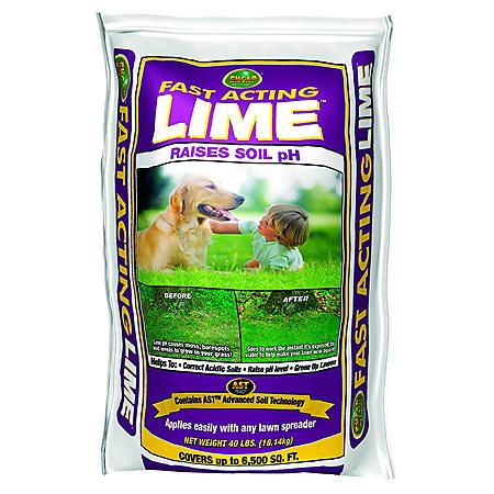 Encap Fast Acting Lime (40 lb. bag, covers 6,500 sq. ft.)