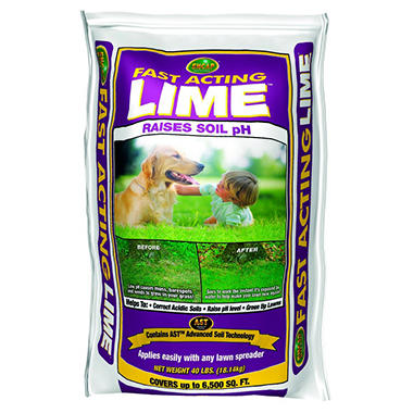 Encap Fast Acting Lime (40 lb. bag, covers 6,500 sq. ft.)