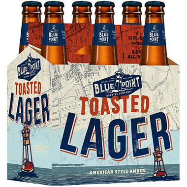 Blue Point Toasted Lager (12 fl. oz. bottle, 6 pk.)