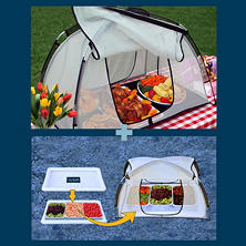 PicnicPal Food-Protecting Tent with Ice Buddy