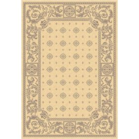 "Courtyard Rug - Natural/Brown 5'3"" × 7'7"""