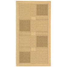 Courtyard Rug - Nautural/Brown  - 4' × 5'7""