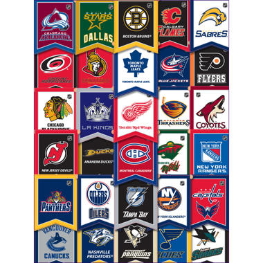 NHL Banner Stickers - 3