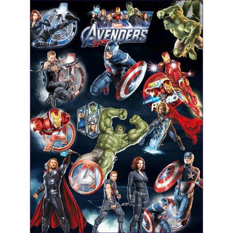 "Avengers Temporary Tattoos - 3"" x 4"" - 300 ct."