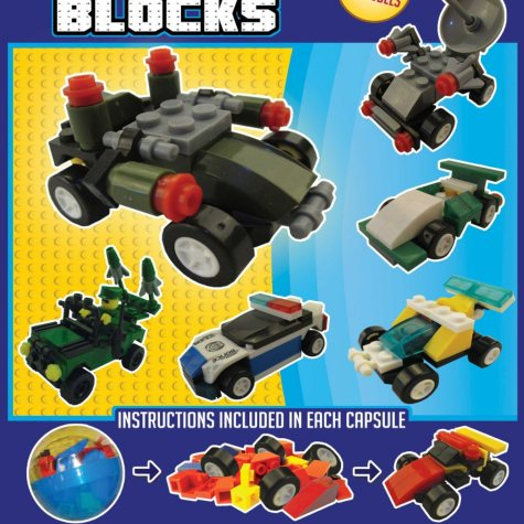 "2"" Capsules - Building Blocks Transportation Series (250 ct.)"