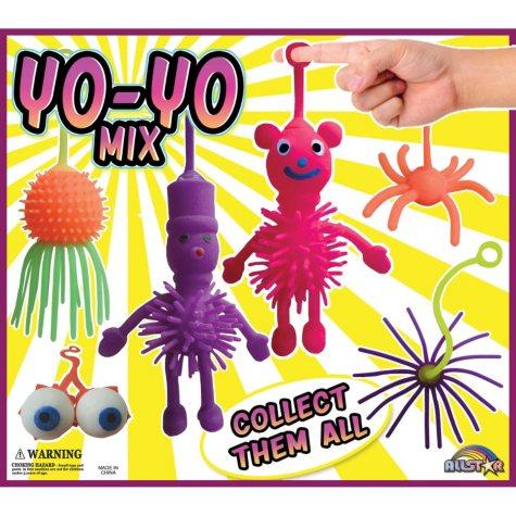"2"" Capsules - Assorted Yoyo Toys (250 ct.)"