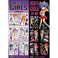 Dress Up Girls Vending Stickers Series #8 (300 ct.)