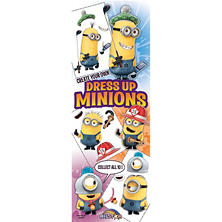 Dress Up Minions Stickers