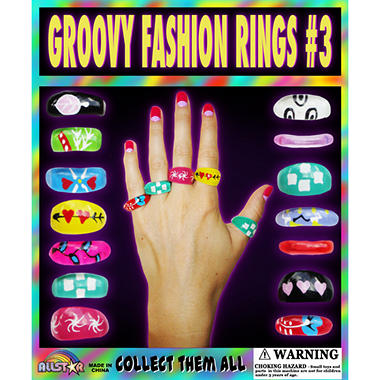 Groovy Fashion Rings - 1