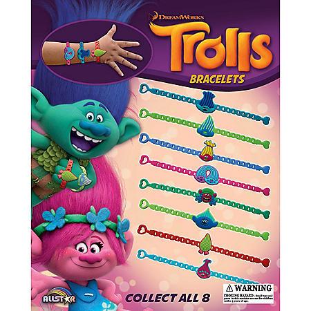 """2"""" Trolls Bracelet Capsules (200 ct.)"""