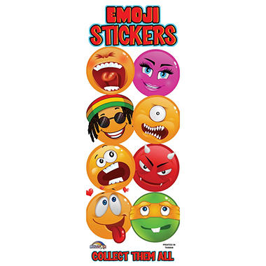 Emoji Vending Stickers (300 ct.)