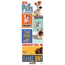 The Secret Life Of Pets Vending Stickers (300 ct.)