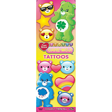 Care Bears Care-Mojis Temporary Tattoos