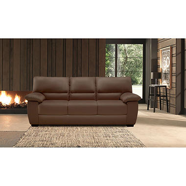 Superb Natuzzi Cara Leather Sofa