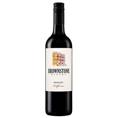 Brownstone Winery Merlot California (750 ml)