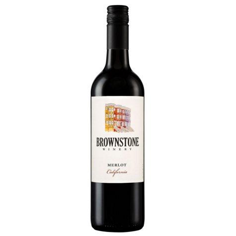 Brownstone Winery Merlot California (750 ml)