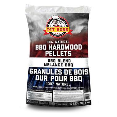 Pit Boss Bbq Blend Grilling Pellets 40 Lb Bag Sam S Club