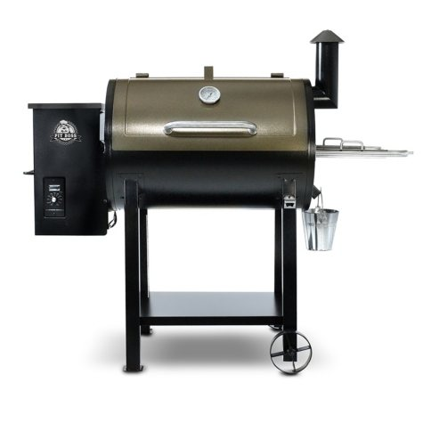 Pit Boss 820 Sq. In. Wood Fired Pellet Grill with Flame Broiler