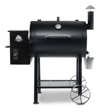 Pit Boss 820FB Sq. In. Wood Fired Pellet Grill with Flame Broiler