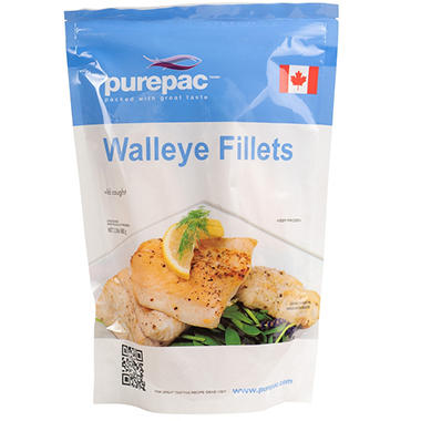 Wild Caught Walleye Fillets (1.5 lbs.)
