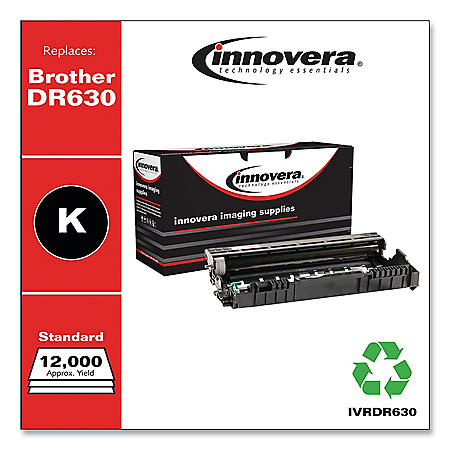 Innovera Remanufactured DR630 Drum Unit, 12000 Page Yield Toner