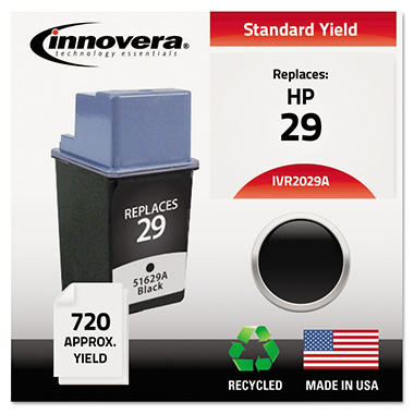 Innovera® Remanufactured 51629A (29) Ink, Black