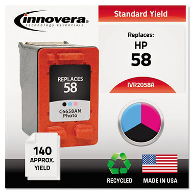 Innovera® Remanufactured C6658AN (58) Ink, Photo