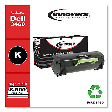 Innovera Remanufactured 3319806 High Yield Black Toner, 8500 Page Yield