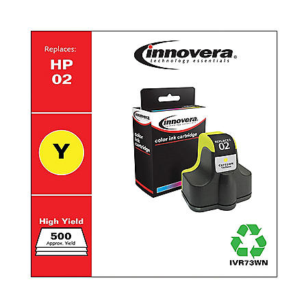 Innovera® Remanufactured C8773WN (02) Ink, Yellow