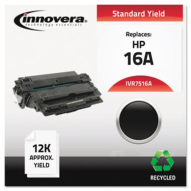 Innovera® Remanufactured Q7516A (16A) Toner, Black