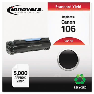 Innovera® Remanufactured 0264B001AA (106) Toner, Black