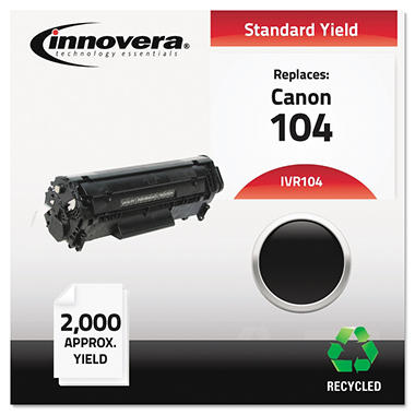 Innovera® Remanufactured 0263B001AA (104) Toner, Black