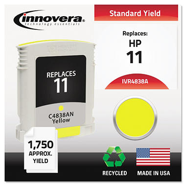 Innovera® Remanufactured C4838A (11) Ink, Yellow