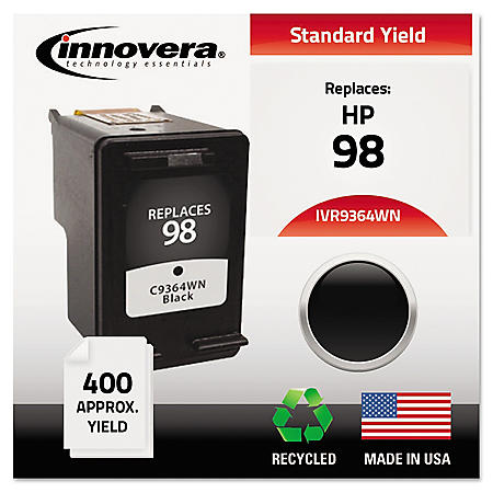 Innovera® Remanufactured C9364A (98) High-Yield Ink, Black