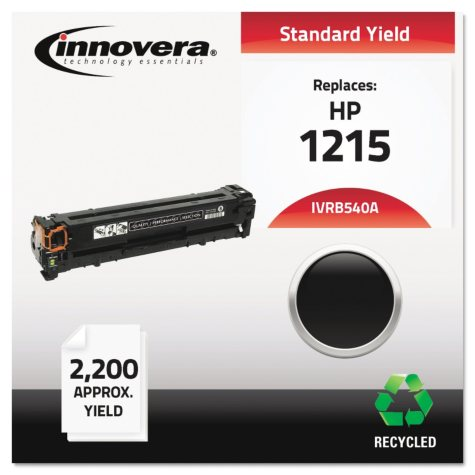 Innovera® Remanufactured CB540A (125A) Toner, Black