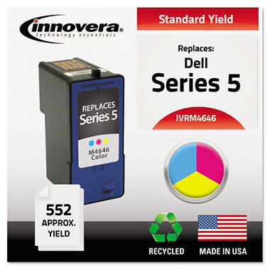 Innovera® Remanufactured M4646 (Series 5) Ink, Tri-Color