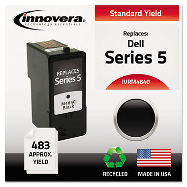 Innovera® Remanufactured M4640 (Series 5) High-Yield Ink, Black