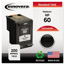Innovera® Remanufactured CC640WN (60) Ink, Black