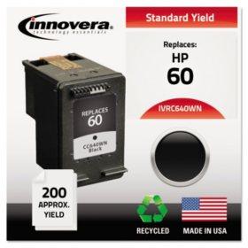 Innovera® Remanufactured CC640WN (60) Ink, Black