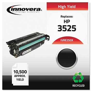 Innovera® Remanufactured CE250X (504X) High-Yield Toner, Black