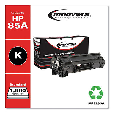 Innovera® Remanufactured CE285A (85A) Toner, Black