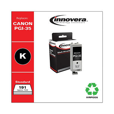 Innovera® Remanufactured 1509B002 (PGI-35) Ink, Black