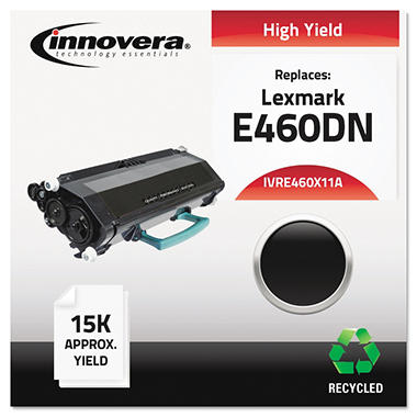 Innovera® Remanufactured E460X11A (E460) Toner, Black