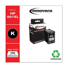 Innovera® Remanufactured CC654AN (901XL) Ink, Black (700 Page-Yield)