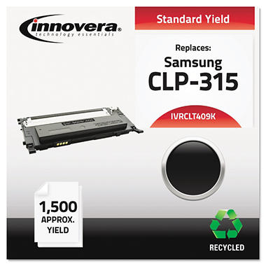 Innovera® Remanufactured CLT-K409S (CLP-315) Toner, Black